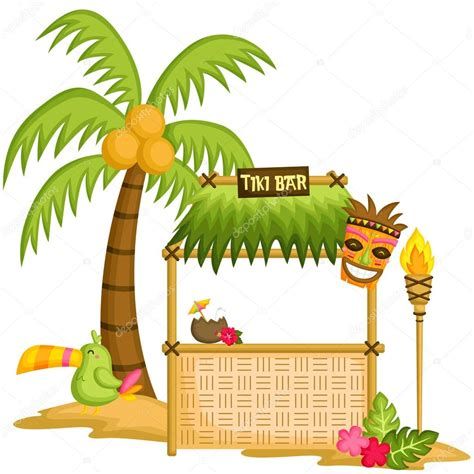 Bar Clipart Tiki Bar Stock Vector 169 Comodo777 77822412