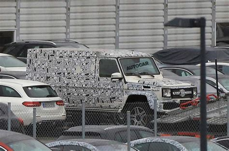 mercedes g500 pickup new mercedes g class 4x4 pickup spotted testing