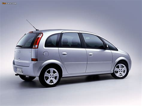 Opel Meriva A 200306 Photos 1024 X 768 Pictures