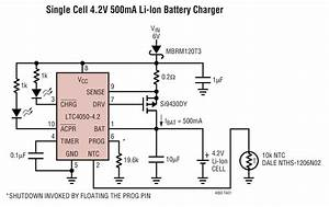 Ltc4050 Typical Application Reference Design