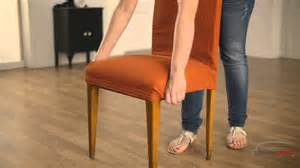 Faire Un Noeud De Chaise by Housse Pour Chaise 225 Dossier Youtube
