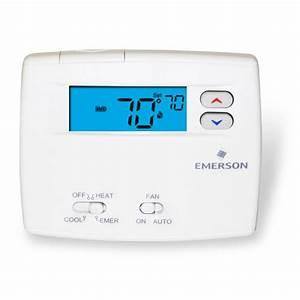 Heat Pump  White Rodgers Heat Pump Thermostat