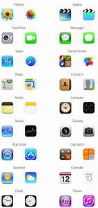 Here's What All The New iOS 7 Icons Look Like Compared To ...