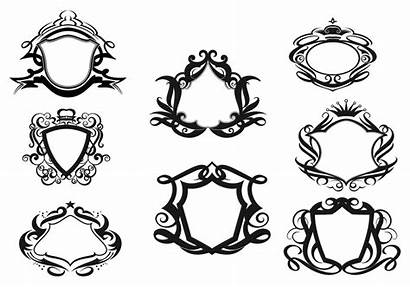 Vector Shields Decorative Shield Brushes Pack Crest
