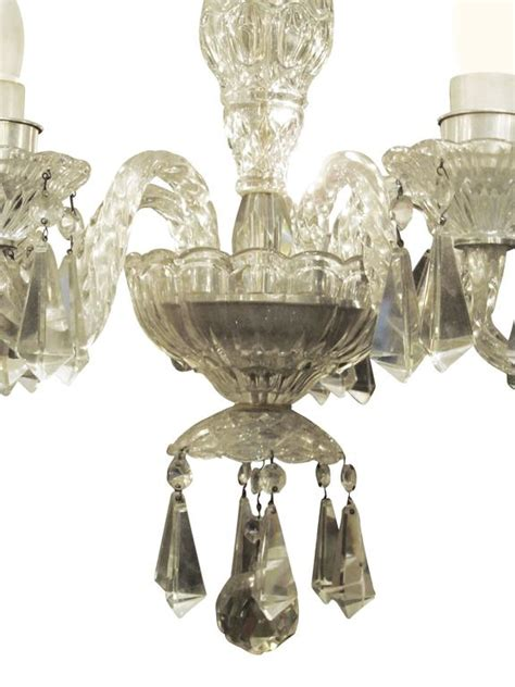 lead chandeliers 1940s five arm german lead chandelier at 1stdibs