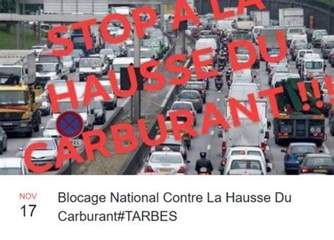 oui au blocage du 17 novembre 2018 appels au blocage contre la hausse du carburant le 17 novembre 24 10 2018 ladepeche fr