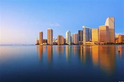Miami Florida Skyline Singapore Making Case Miamian