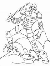 Coloring Pages Merman Knight Comments sketch template