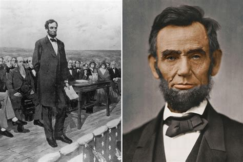 What did US President Abraham Lincoln say in the 1863 ...