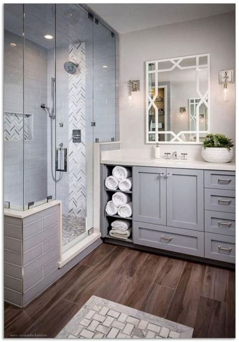 nice  urban farmhouse master bathroom remodel