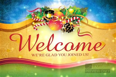 ca christmas welcome message worship background church motion graphics