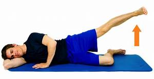 Image result for side lying hip abduction   Workout at ...