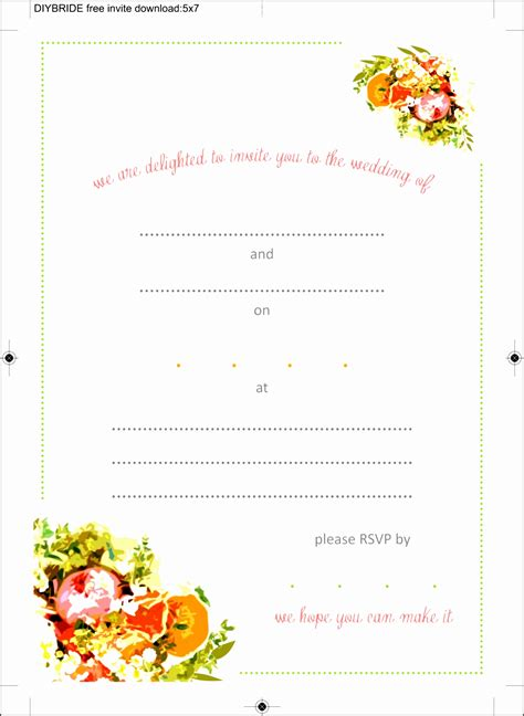 invitation card template word free 10 ms word birthday invitation template
