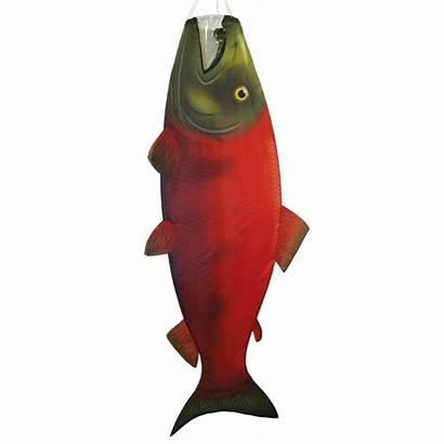 Salmon Windsock Sockeye Fish Windsocks
