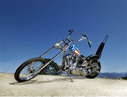 Rider Captain America Easy Chopper Motorcycle Auction