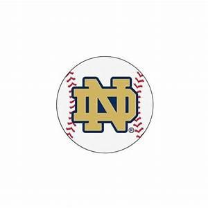 Notre Dame Fighting Irish NCAA Baseball Round Floor Mat 29