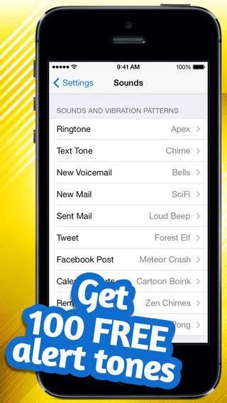 best iphone text tones 20 best ringtone apps to free iphone alert tones