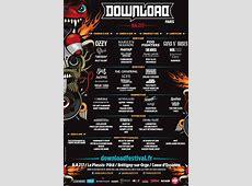 ConcertsMetal Calendar Download Festival Paris 2018