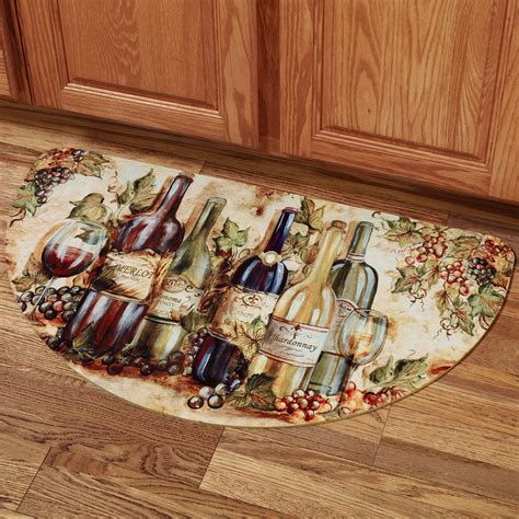lovely wine themed kitchen rugs   home improvement