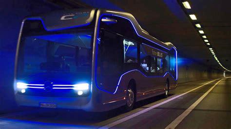 concept bus mercedes benz future bus concept car body design