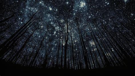 Anime Night Sky Wallpaper Stars Backgrounds Pixelstalk Net