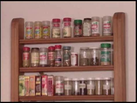 How To Build A Spice Rack by How To Build A Spice Rack