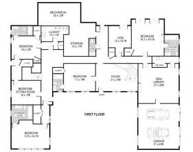 Harmonious Single Level Home Floor Plans by The Real Estalker March 2013