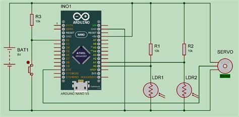 Arduino Solar Tracker Using Ldr Sensor & Servo Motor