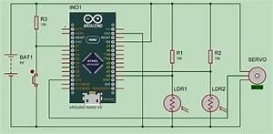 Arduino Solar Tracker Using Ldr Sensor  U0026 Servo Motor