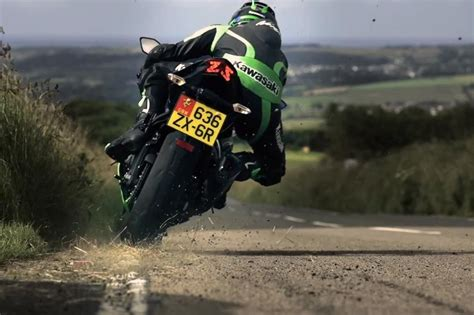 Motorcycle Commercial by Filming The Kawasaki Zx 6r Commercial At The Isle Of