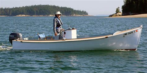 Skiff Or Mackinaw by The Woodenboat School Fleet Of Small Boats