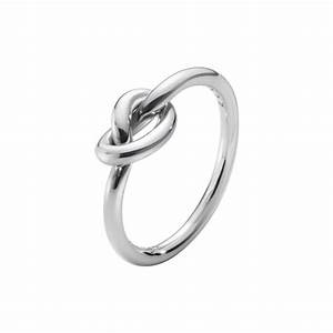 Georg jensen sterling silver love knot ring hancocks for Georg jensen wedding rings