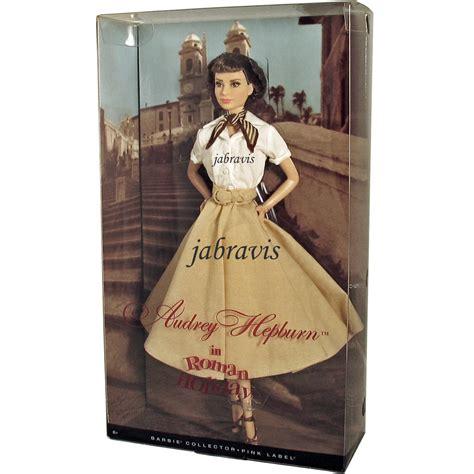 barbie collector  audrey hepburn  roman holiday