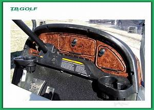 Wood Grain Yamaha Golf Cart Dash Kit Electric Golf Cart