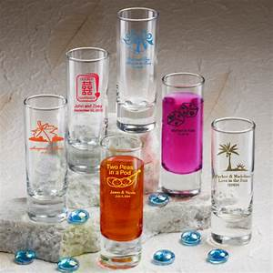 personalized tall shot glasses for wedding favors With shot glasses personalized wedding favors
