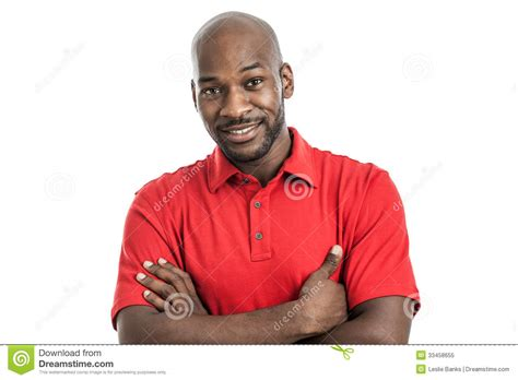 Black Stock Images Handsome Black Portrait Royalty Free Stock Photo