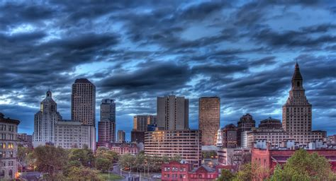 Hartford Skyline | I know, big surprise. Another Hartford ...