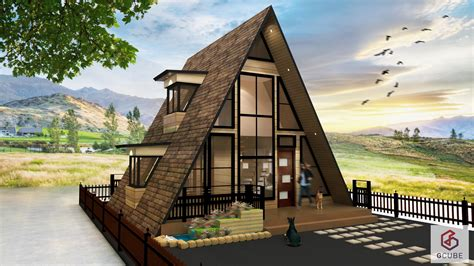 A Frame Style House Plans by This Small A Frame House Design Philippines Is A Resthouse