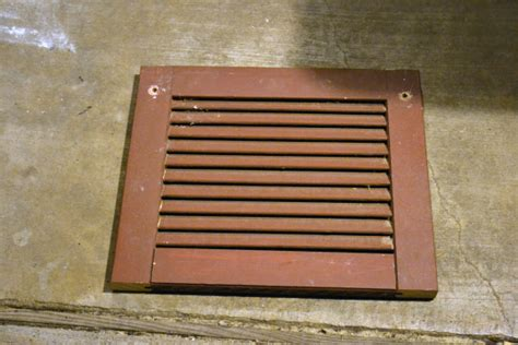 decorative return air vent cover diy custom wood air return vent cover part 1 addicted 2