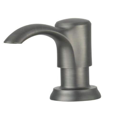 pfister pasadena 11 94 in kitchen soap dispenser in slate