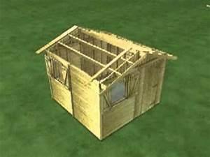 Plan Abri De Jardin En Bois Gratuit : abri de jardin en bois construction et mode d 39 emploi ~ Melissatoandfro.com Idées de Décoration