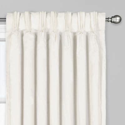 Bed Bath And Beyond Tucson by Tucson Pinch Pleat Back Tab Window Curtain Panel Bed
