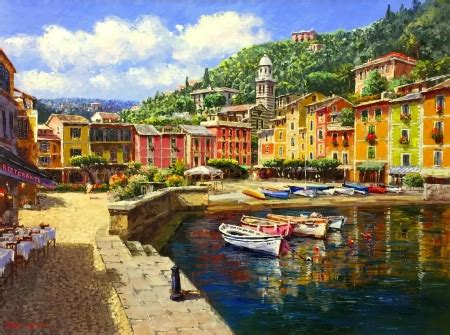Portofino Backgrounds by Harbor At Portofino Other Abstract Background