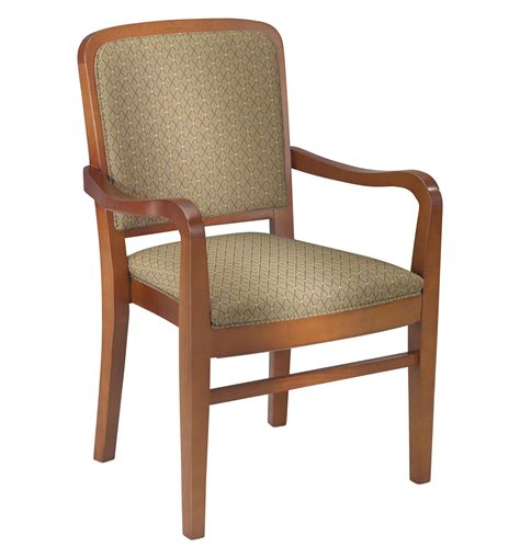 2760 Stacking Wood Arm Chair