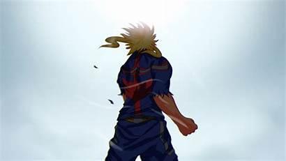 Academia Hero Might Background 1080p Fhd