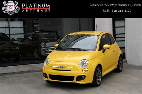 Fiat Ca by 2015 Fiat 500 Sport Stock 6243a For Sale Near Redondo
