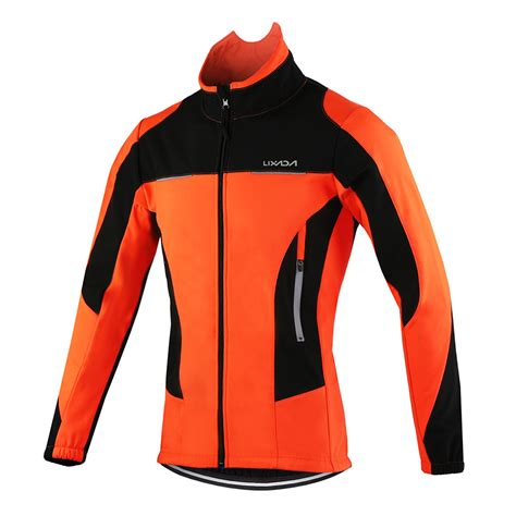 winter bicycle jacket lixada 2017 thermal cycling jacket winter warm up bicycle