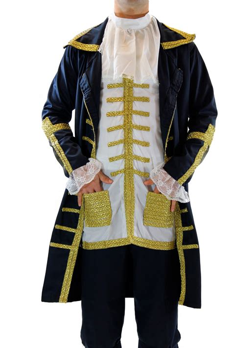 Blue Baron High Quality Menu0026#39;s Costume Baroque Mozart Aristocrat Court Servant | eBay