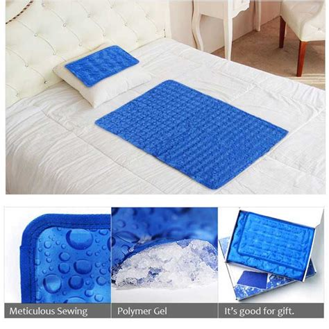 cooling bed topper hanil cool gel mattress pillow pad cooling topper for