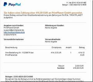 Muss Eine Rechnung Unterschrieben Werden : sie haben eine rechnung 3303 8820 8213 6606 mit paypal bezahlt mimikama ~ Themetempest.com Abrechnung